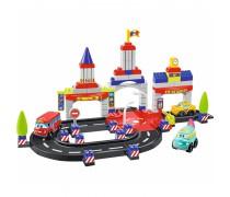 Konstruktorius - lenktynių trasa su 4 mašinomis | Abrick | Ecoiffier 3028