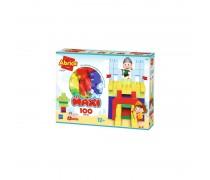 Spalvotų kaladėlių rinkinys 100 vnt | Abrick | Ecoiffier 7700