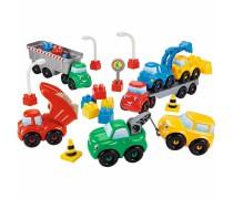 Statybinių mašinėlių rinkinys | Ecoiffier 3089