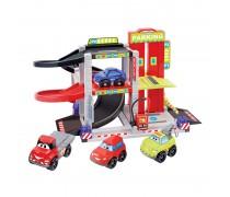 Trijų aukštų garažas su 4 automobiliais | Abrick | Ecoiffier 3043