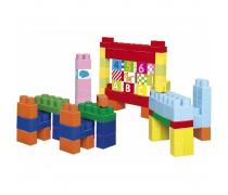Vaikiškas Abrick kaladėlių rinkinys dėžėje 100 vnt | Ecoiffier