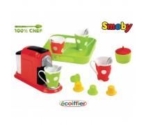 Vaikiškas kavos virimo aparatas su priedais| Ecoiffier 2614