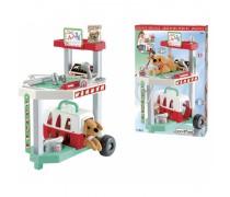 Veterinarijos gydytojo vežimėlis su priedais | Veterinary clinic | Ecoiffier