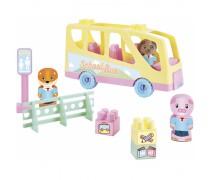 Žaislinis automobilis su kaladėlėmis 40 vnt | Abrick | Ecoiffier 3017