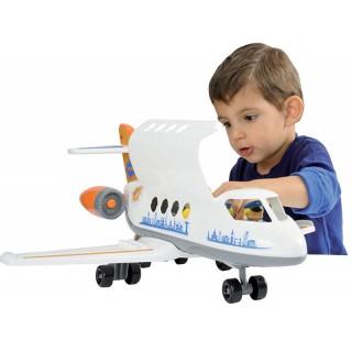 Žaislinis didelis lėktuvas su figūrėlėmis | Happy Jet | Ecoiffier 3045