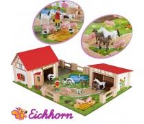Vaikiškas medinis žaidimas | Ferma | Eichhorn