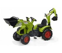 Minamas traktorius su kaušu | CLAAS AXOS 330 | Falk