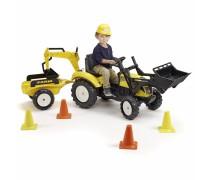 Minamas traktorius su kaušu, priekaba ir priedais - vaikams nuo 3 iki 8 metų | Farm | Falk 2085XC