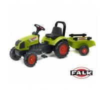 Minamas traktorius su priekaba | Arion 410 | Falk