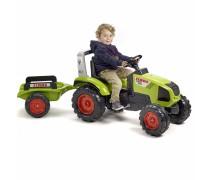 Minamas traktorius su priekaba - vaikams nuo 3 metų | Claas Axos 330 | Falk 1011AB