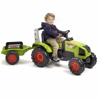 Minamas traktorius su priekaba | Claas Axos 330 | Falk