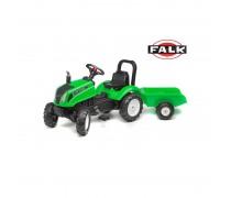 Minamas traktorius su priekaba | Green Land Master | Falk