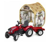 Minamas traktorius su priekaba ir palapine - vaikams nuo 3 metų | Garden Master | Falk 3021AT