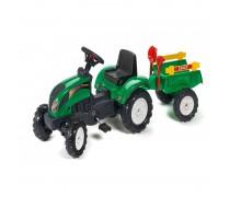 Minamas traktorius su priekaba ir smėlio žaislais - vaikams nuo 2 metų | Ranch | Falk 2052C