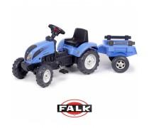 Minamas traktorius su priekaba | LANDINI 110 | Falk 2050C