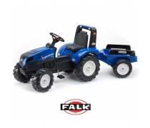 Minamas traktorius su priekaba - vaikams nuo 3 metų | New Holland | Falk 3090B