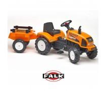 Minamas traktorius su priekaba | Renault Celtis 436RX | Falk