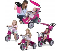 Triratukas 4in1 BABY EVOLUTION EASY TRIKE | Rožinis | Feber