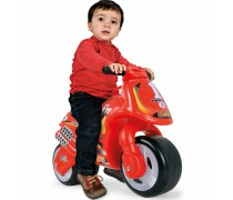 Paspiriamas motociklas | Neox Racer Red | Injusa