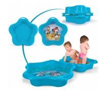 Vaikiškas mėlynas baseinas-smėlio dėžė su dangčiu 2in1 | Mickey Mouse | Injusa 20420