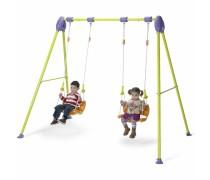Vaikiškos sūpynės su atrama nugarai 2 vaikams | Junior Swing | Injusa 2062