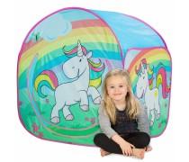 Vaikiška palapinė su vienaragio paveikslėliais | Play Tent | John