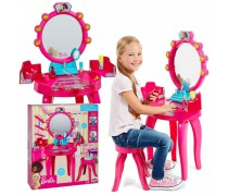 Kosmetinis staliukas su lemputėmis ir kėdute | Barbie | Klein 5320