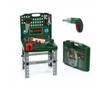 Sulankstomas darbastalis - lagaminas su elektriniu atsuktuvu ir priedais | Bosch | Klein 8686