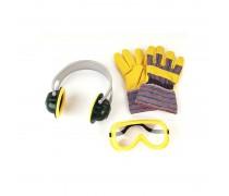 Vaikiški apsauginiai akiniai, ausinės ir pirštinės | Bosch | Klein 8535