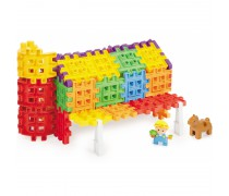 Konstravimo kaladėlės 75 vnt | Waffle blocks Farm Set 4in1 | Little tikes