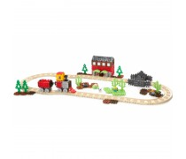 Didelis konstruktorius traukinukas | Waffle Blocks Steam Train | Little Tikes 643132M