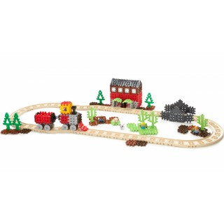 Didelis konstruktorius traukinukas | Waffle Blocks Steam Train | Little Tikes