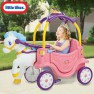 Paspiriama mašina - karieta su žirgu | Cozy Coupe Princess Horse and Carriage | Little Tikes 642326M