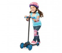 Triratis mėlynas paspirtukas | Lean to Turn Scooter | Little Tikes 638152E4