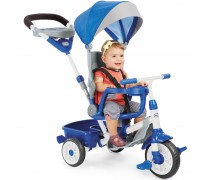 Triratukas mėlynas 4in1 | Perfect Fit Trike | Little tikes 643705E4