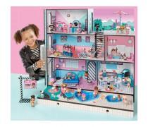 LOL didelis namas lėlėms + 85 staigmenos | LOL Surprise House | MGA 560531E7C