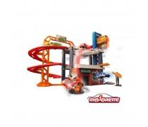 3 aukštų mašinėlių garažas | Stunt Heroes Parking | Majorette 2058014