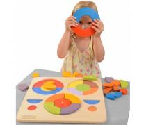 Medinė dėlionė - galvosūkis | Educational Board Toys | Masterkidz ME12708