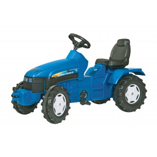 Minamas traktorius 3-8 m. | FarmTrac New Holland | Rolly Toys 036219