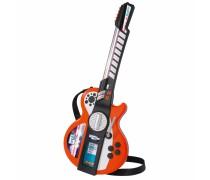 Elektrinė gitara su šviesos ir garso efektais | su MP3 jungtimi | Simba