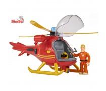 Gelbėtojų sraigtasparnis su šviesomis ir garsais | Fireman SAM | Simba 9251661