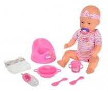 Lėlė 43 cm su priedais | New Born Baby | Simba 5039005