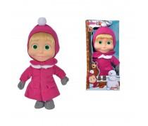 Lėlė Maša 23 cm su žiemine apranga | Maša ir lokys | Simba 9301006