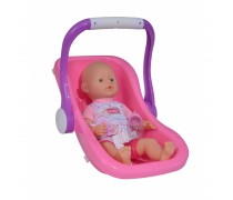 Lėlė 38 cm su nešiokle | New Born Baby | Simba 5030070