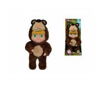 Lėlytė Maša 25 cm su lokio kostiumu 2in1 | Maša ir lokys | Simba 9301064