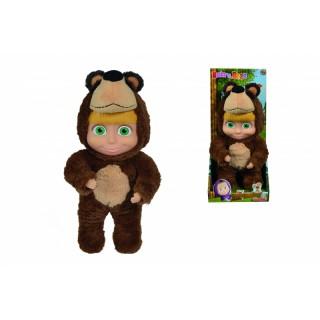 Lėlytė Maša 25 cm su lokio kostiumu 2in1   Maša ir lokys   Simba 9301064