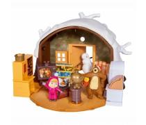 Mašos ir lokio žiemos namas su priedais | Maša ir lokys | Simba 9301023