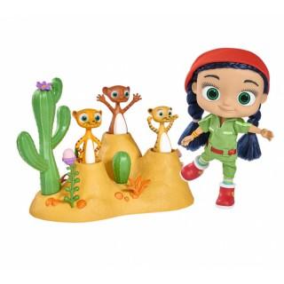 Wissper 3 tigriukai dykumoje | Desert World Play Set | Simba