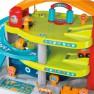 3 aukštų automobilių garažas su trasa XL   Vroom Planet    Smoby 120401