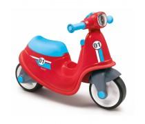 Paspiriamas raudonas balansinis dviratis motociklas | Scooter | Smoby